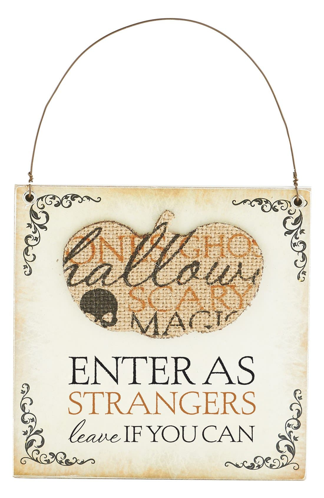 Main Image - K & K Interiors 'Enter As Strangers, Leave If You Can' Ornament