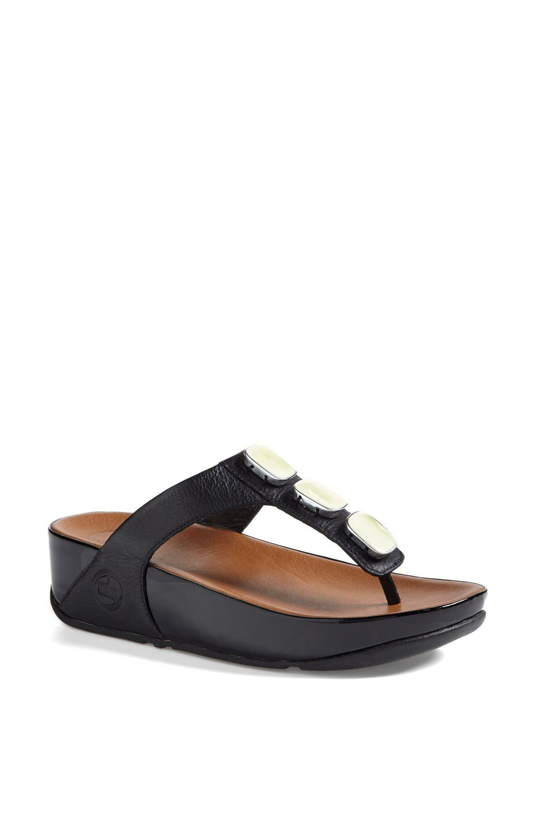 Alternate Image 1 Selected - FitFlop™ 'Pietra II' Sandal