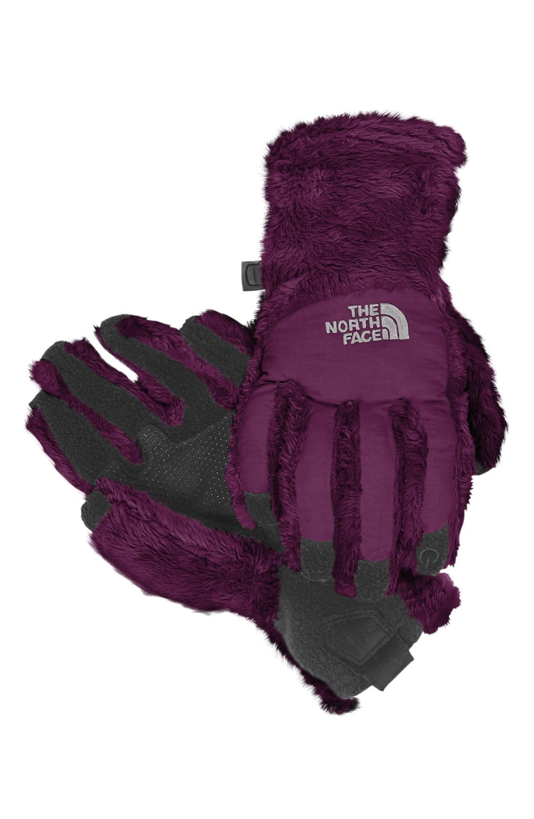 Main Image - The North Face 'Denali Etip' Gloves (Girls)
