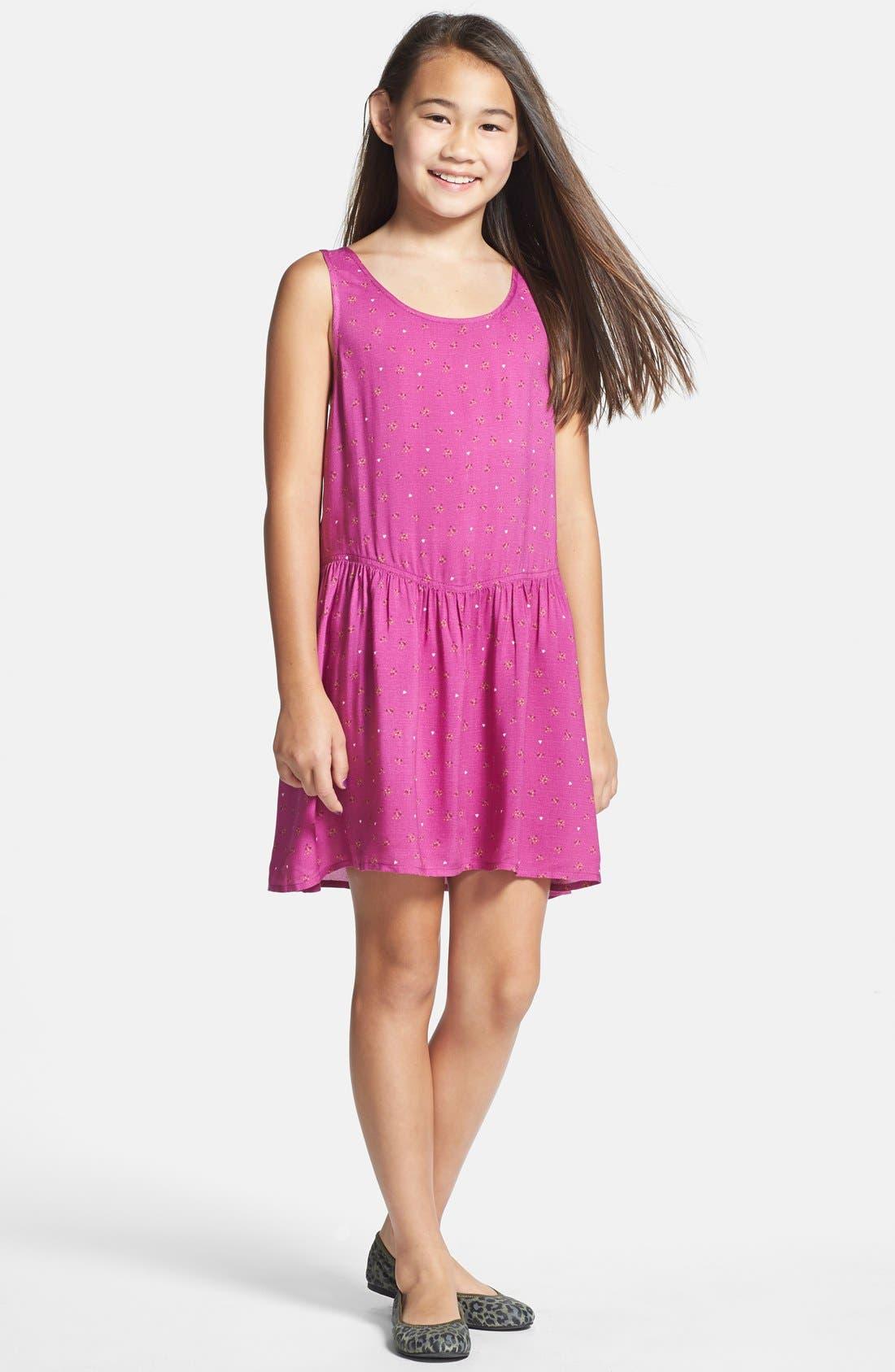Main Image - Tucker + Tate 'Krissi' Sleeveless Dress (Big Girls)