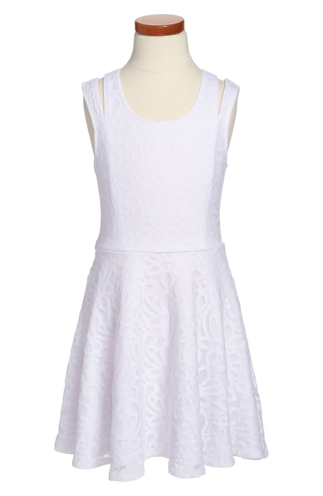 Main Image - Sally Miller 'Soutache' Sleeveless Dress (Big Girls)