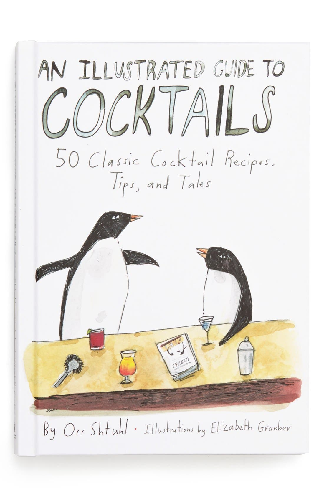 Main Image - 'An Illustrated Guide to Cocktails' Book