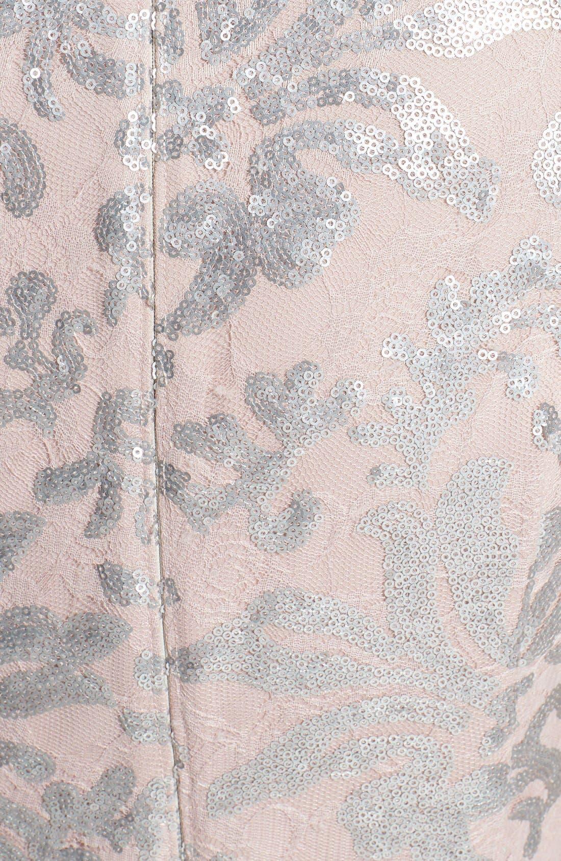 Alternate Image 4  - Alex Evenings Sequin Lace Dress & Bolero