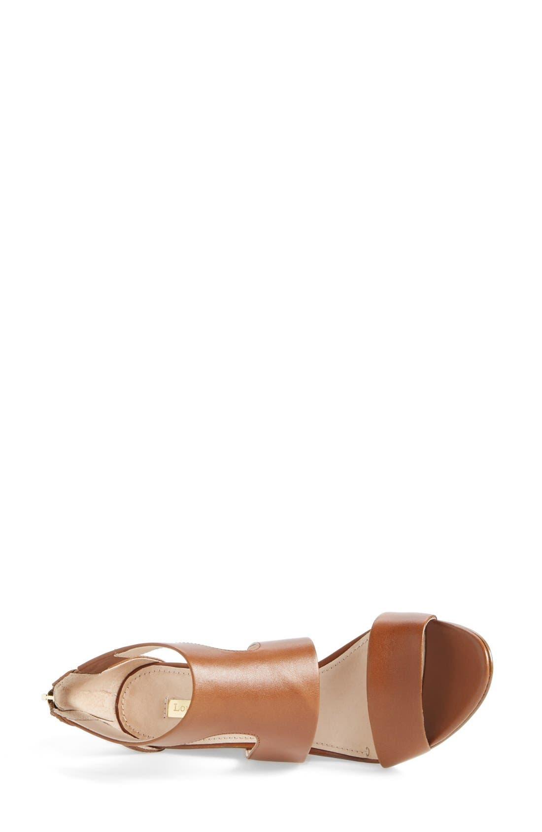 Alternate Image 3  - Louise et Cie 'Rozza' Leather Wedge Sandal (Women)