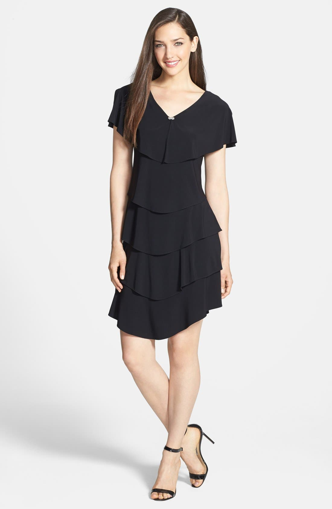 Alternate Image 3  - Patra Embellished Tiered Jersey Dress