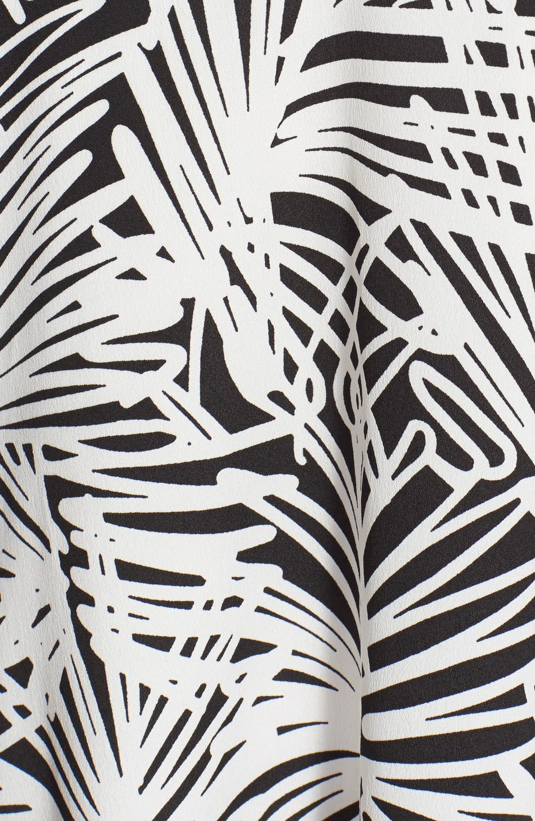 Alternate Image 3  - DKNYC Print Sleeveless Trapeze Dress