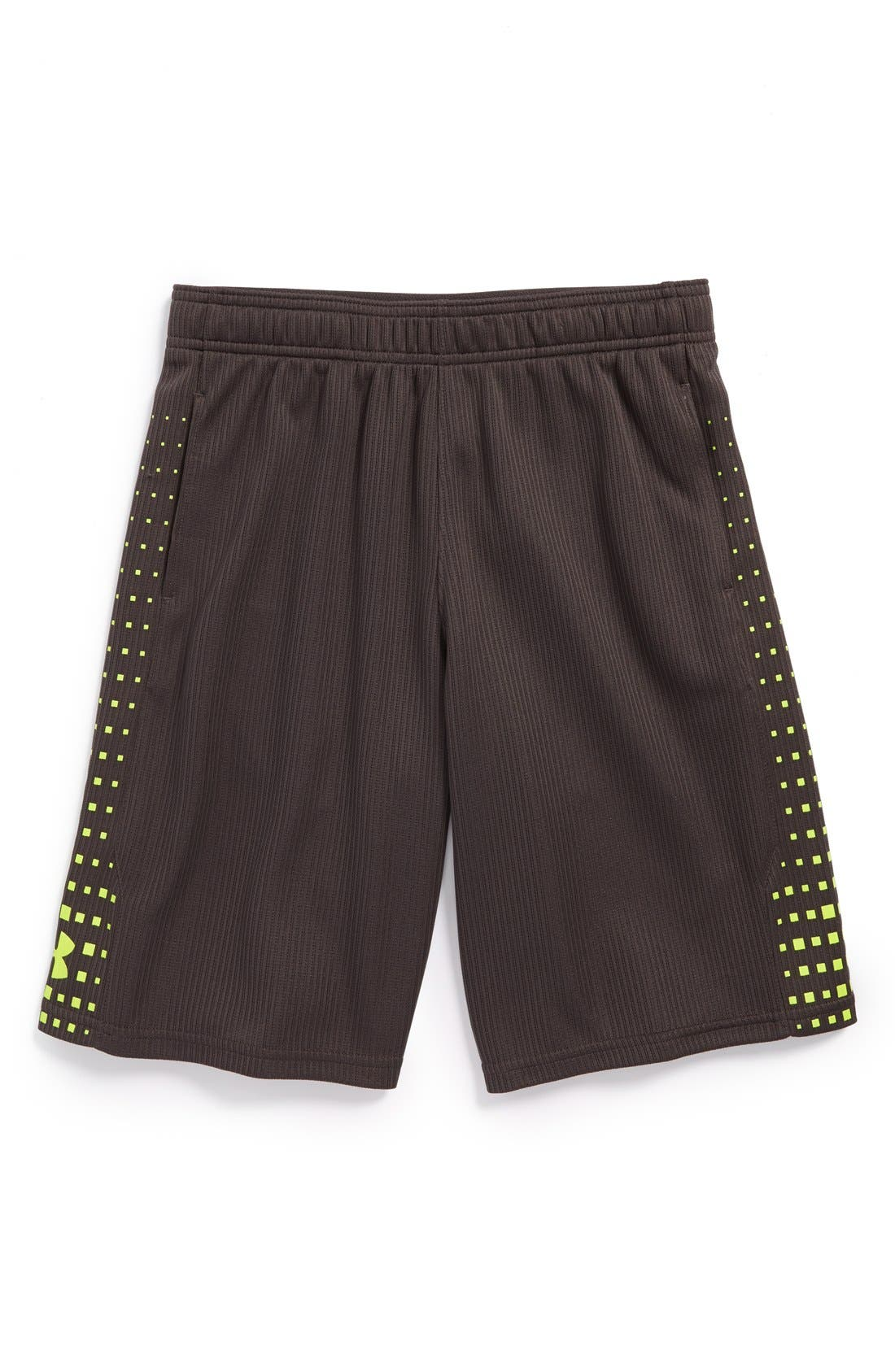 Alternate Image 1 Selected - Under Armour 'Done. Done. Done.' HeatGear® Shorts (Big Boys)