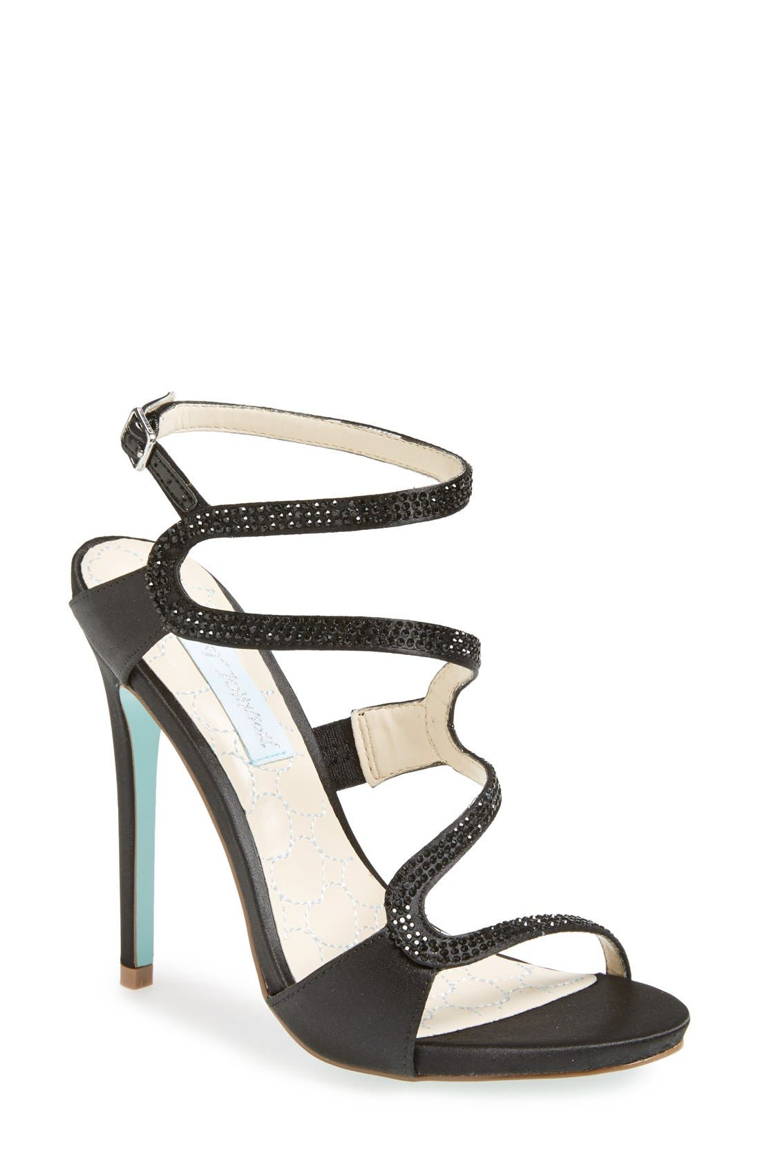 Main Image - Blue by Betsey Johnson 'Gift' Satin Sandal