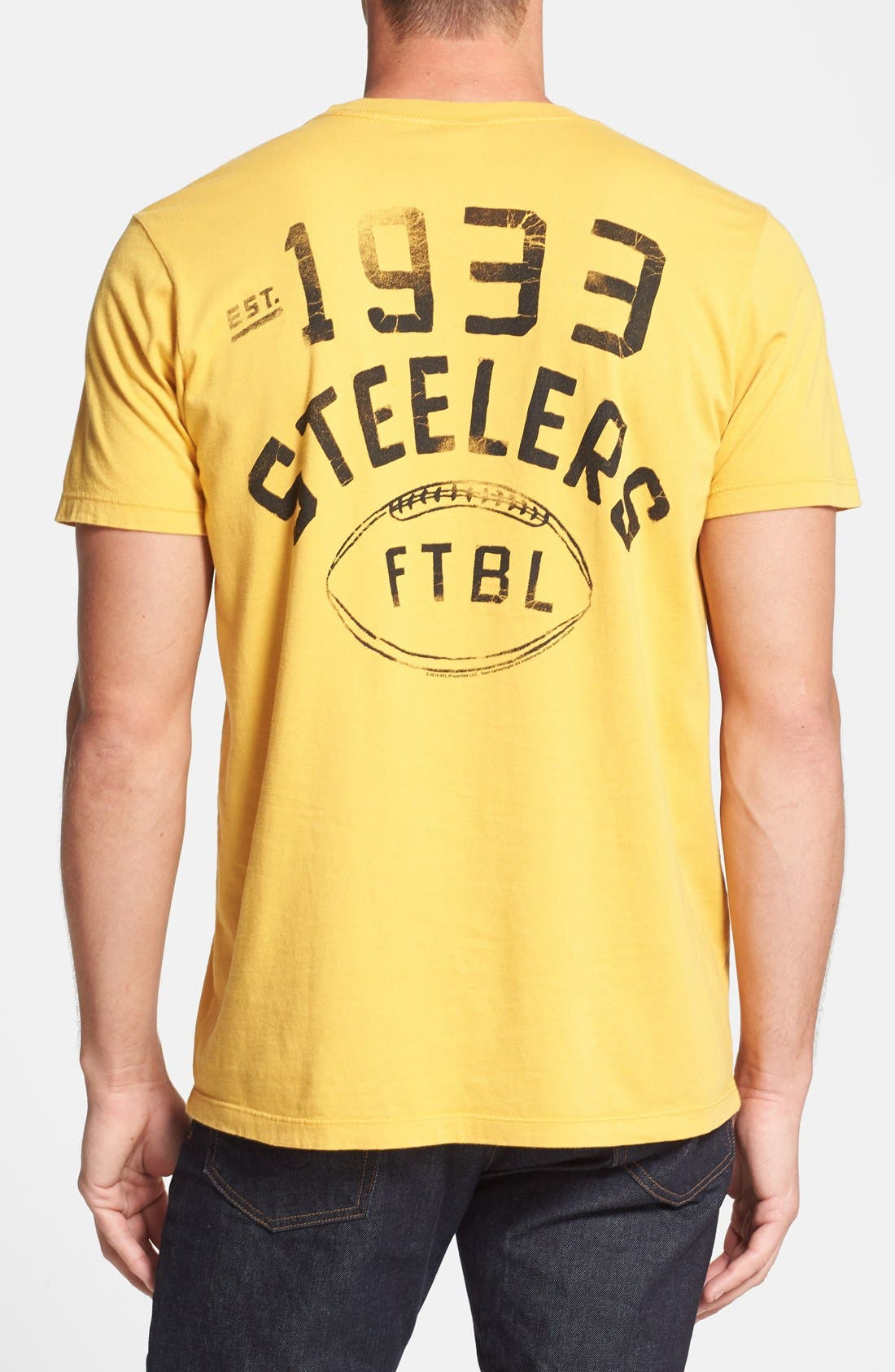 Alternate Image 2  - Junk Food 'Pittsburgh Steelers' Graphic T-Shirt
