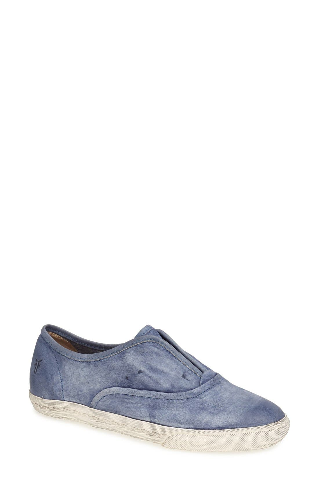 Alternate Image 1 Selected - Frye 'Mindy' Slip-On Leather Sneaker (Women)