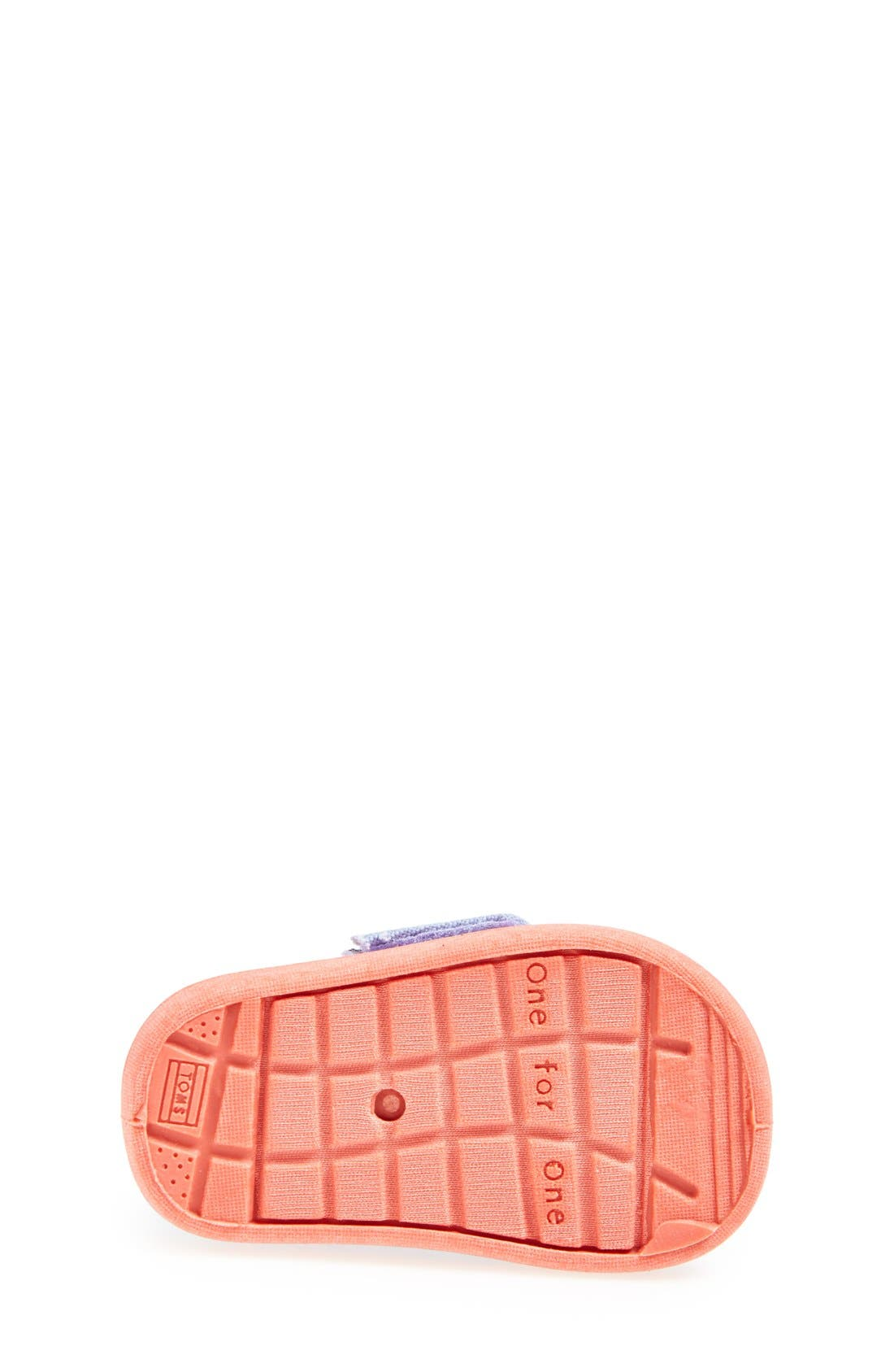 Alternate Image 4  - TOMS 'Bimini Tiny - Water Dot' Slip-On (Baby, Walker & Toddler)