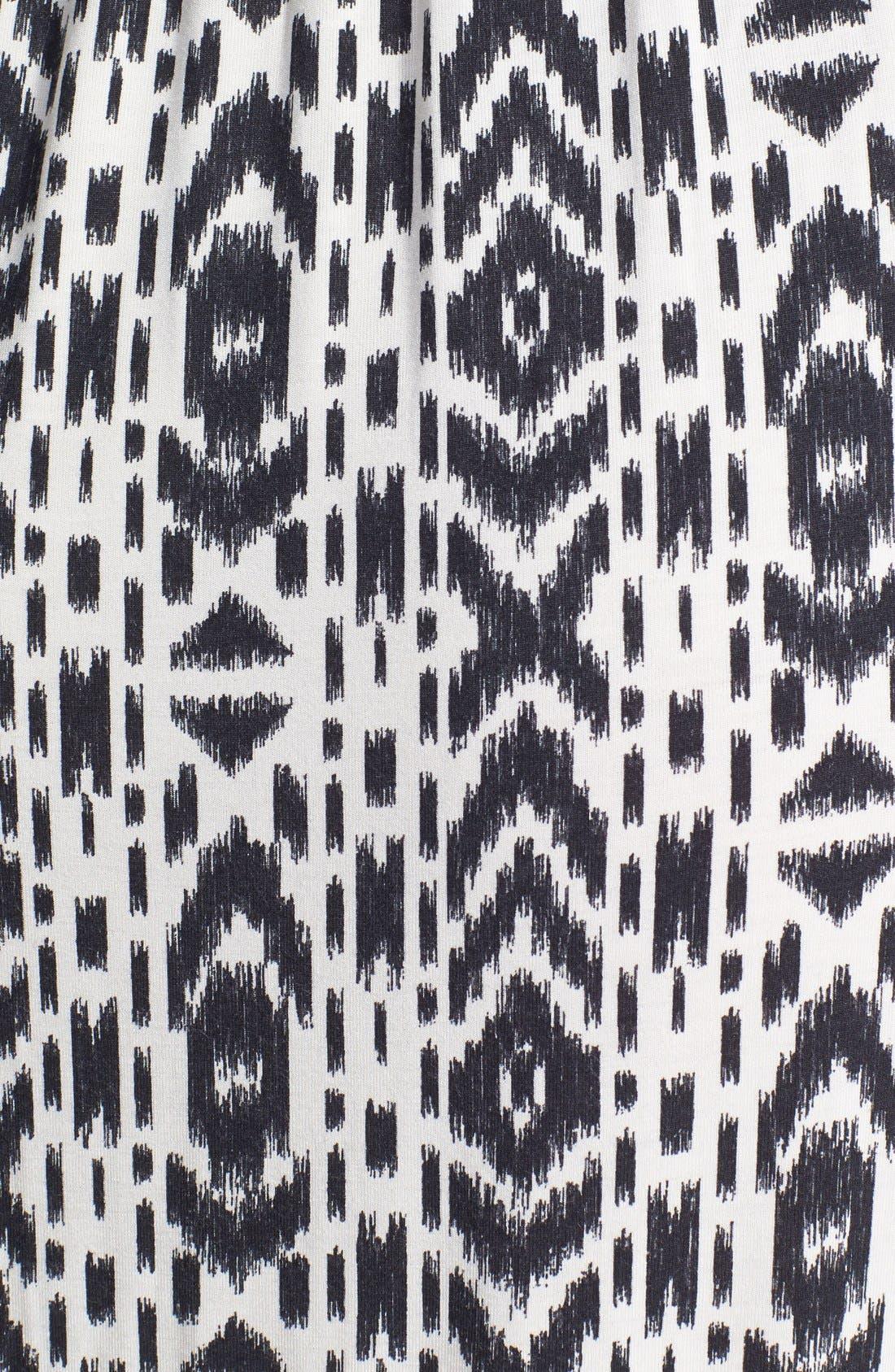 Alternate Image 3  - Volcom 'Play Along' Print Strap Detail Maxi Dress