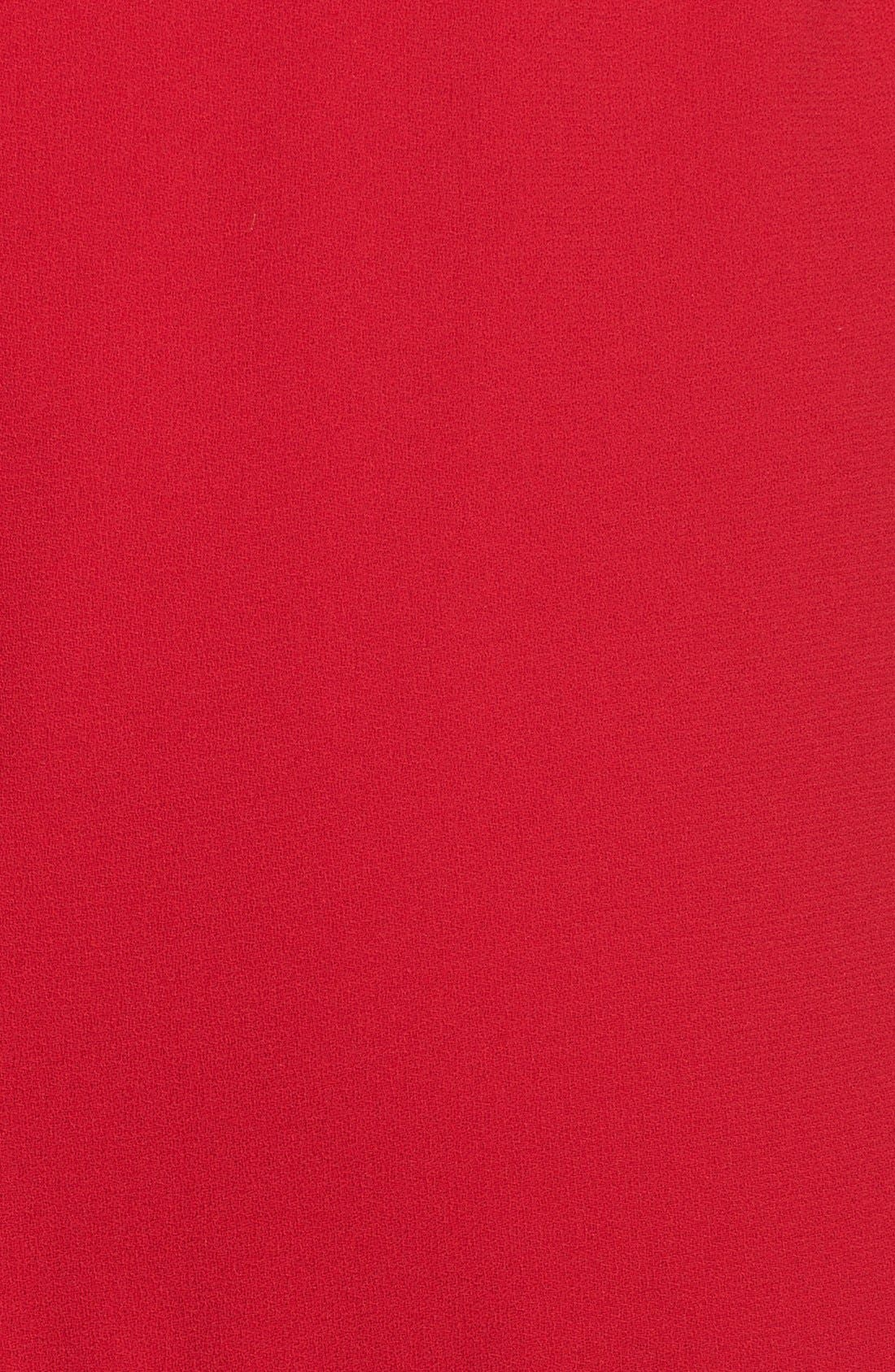 Alternate Image 4  - Jill Jill Stuart Strapless Fitted Crepe Dress
