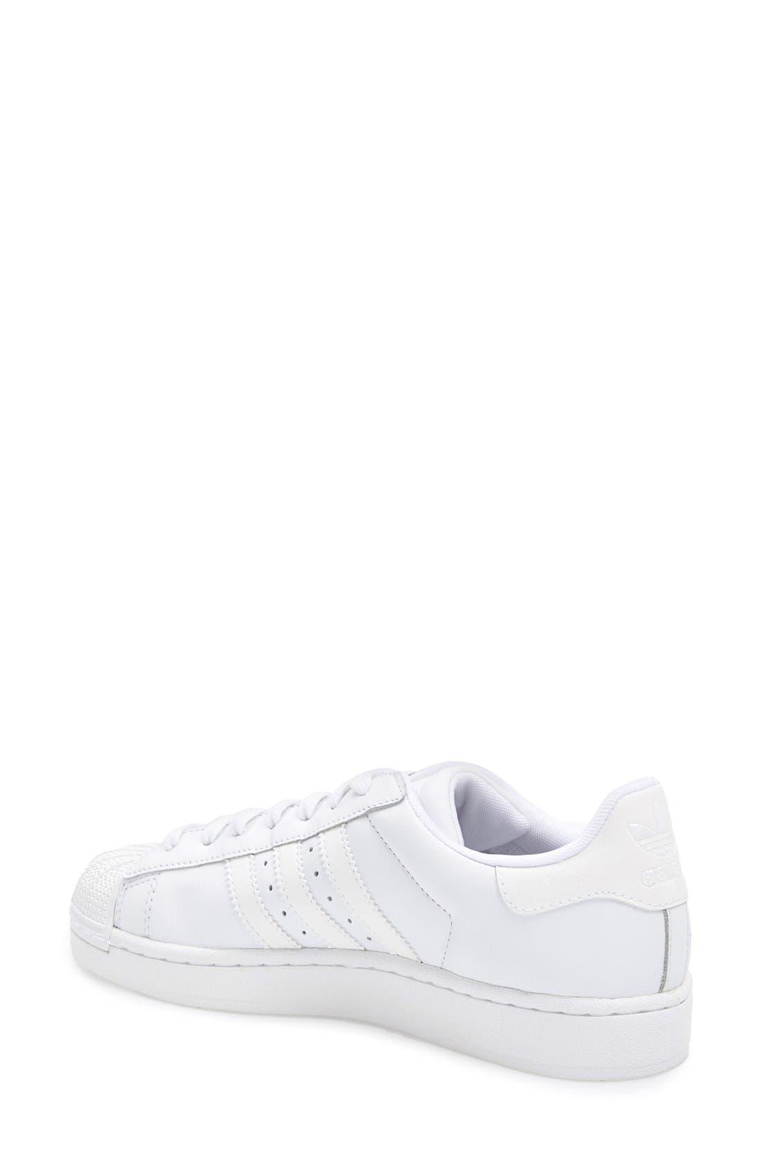 Alternate Image 2  - adidas 'Superstar II' Sneaker (Women)