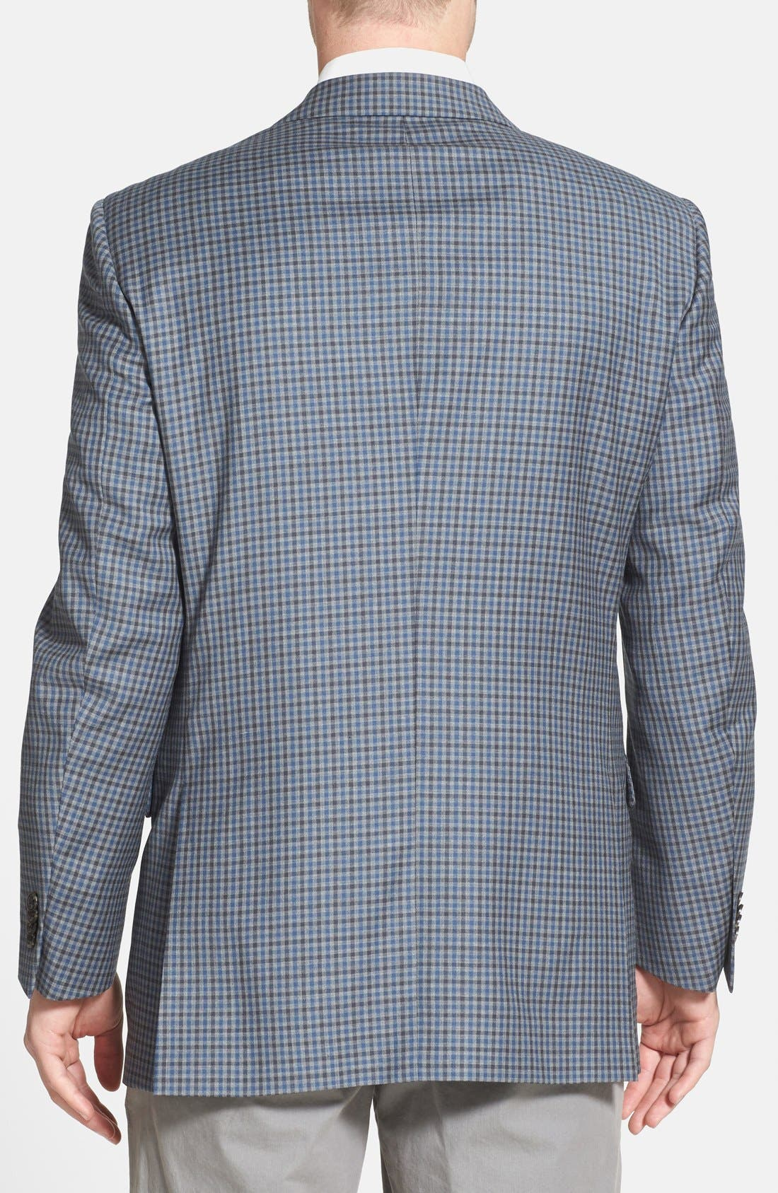 Alternate Image 2  - Peter Millar 'Flynn' Classic Fit Check Sport Coat