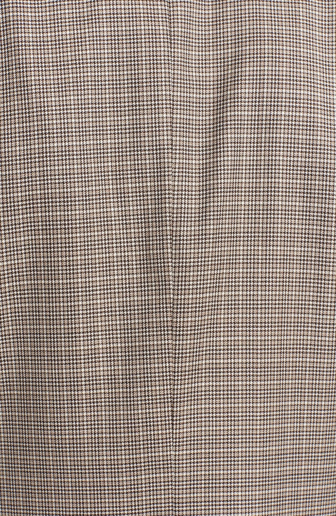 Alternate Image 3  - Canali Classic Fit Houndstooth Wool Sportcoat