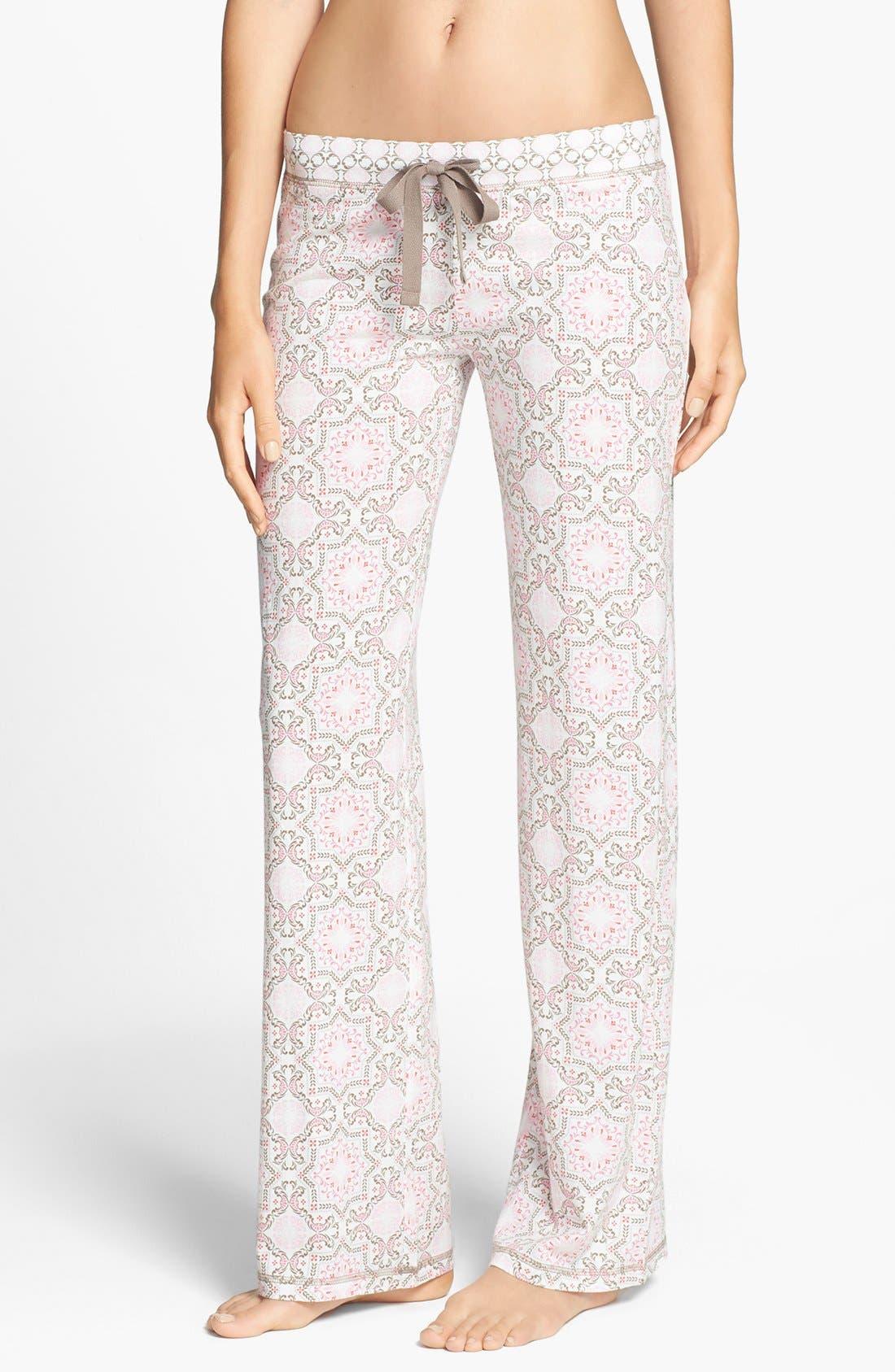 Main Image - PJ Salvage 'Print Princess' Jersey Pants