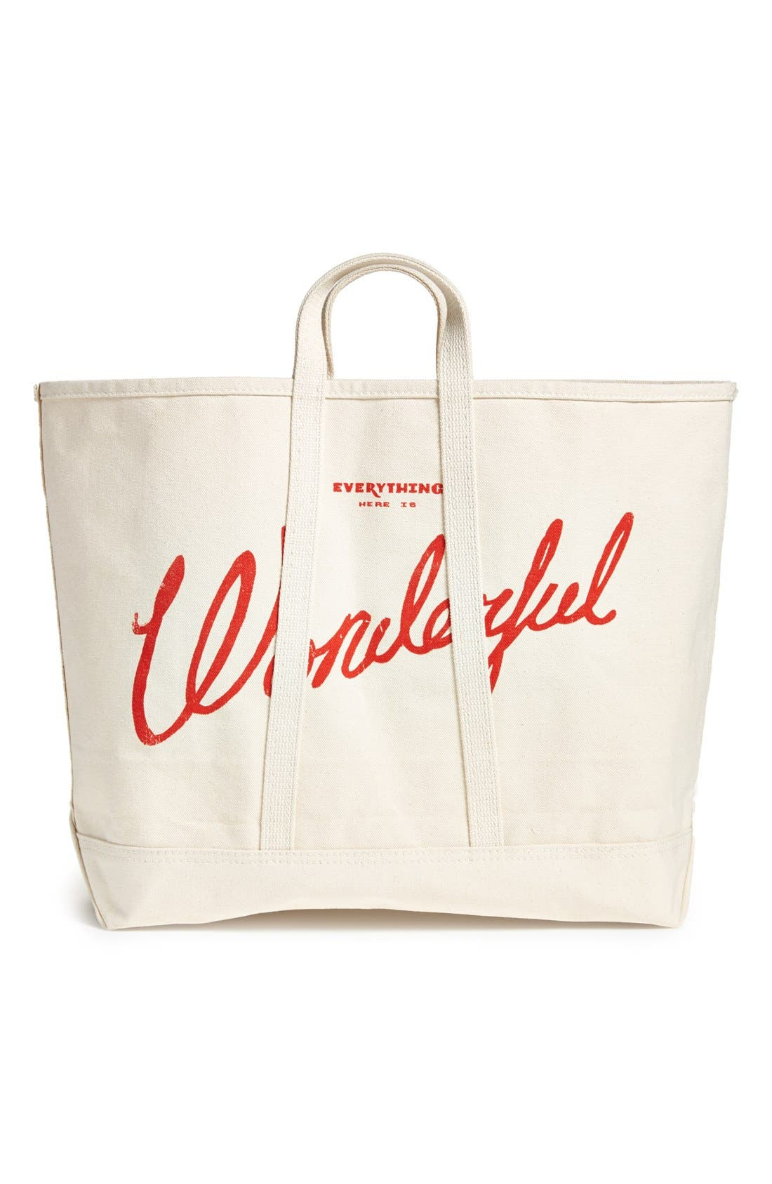 Alternate Image 1 Selected - Best Made Co '100lb Coal Bag' Canvas Tote