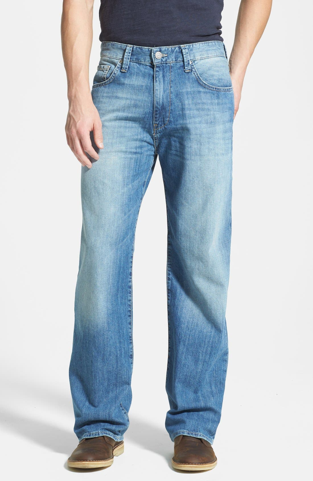 Alternate Image 1 Selected - Mavi Jeans 'Max' Relaxed Fit Jeans (Used Summer)