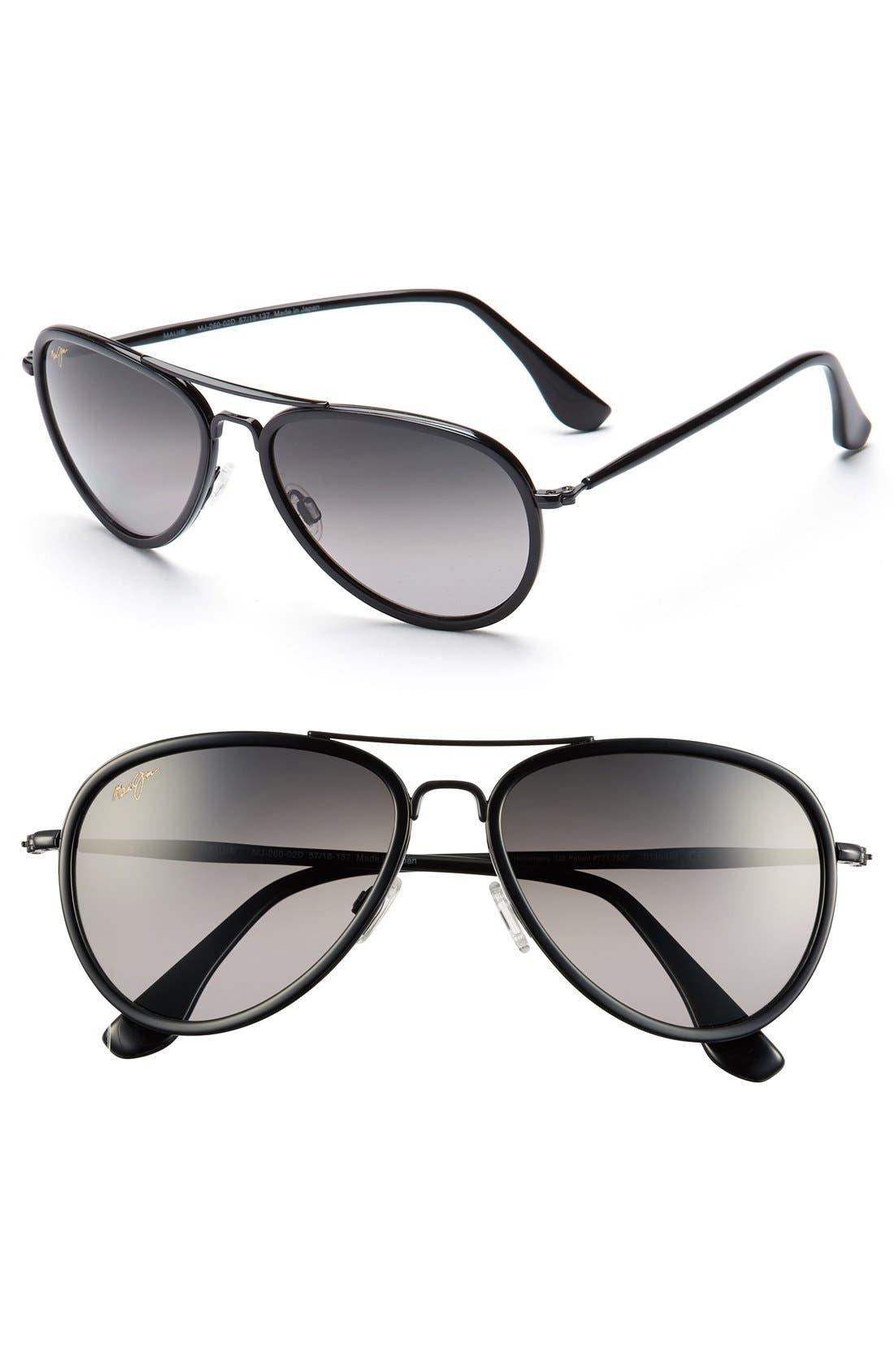 Alternate Image 1 Selected - Maui Jim 'Honomanu' 57mm PolarizedPlus®2 Sunglasses