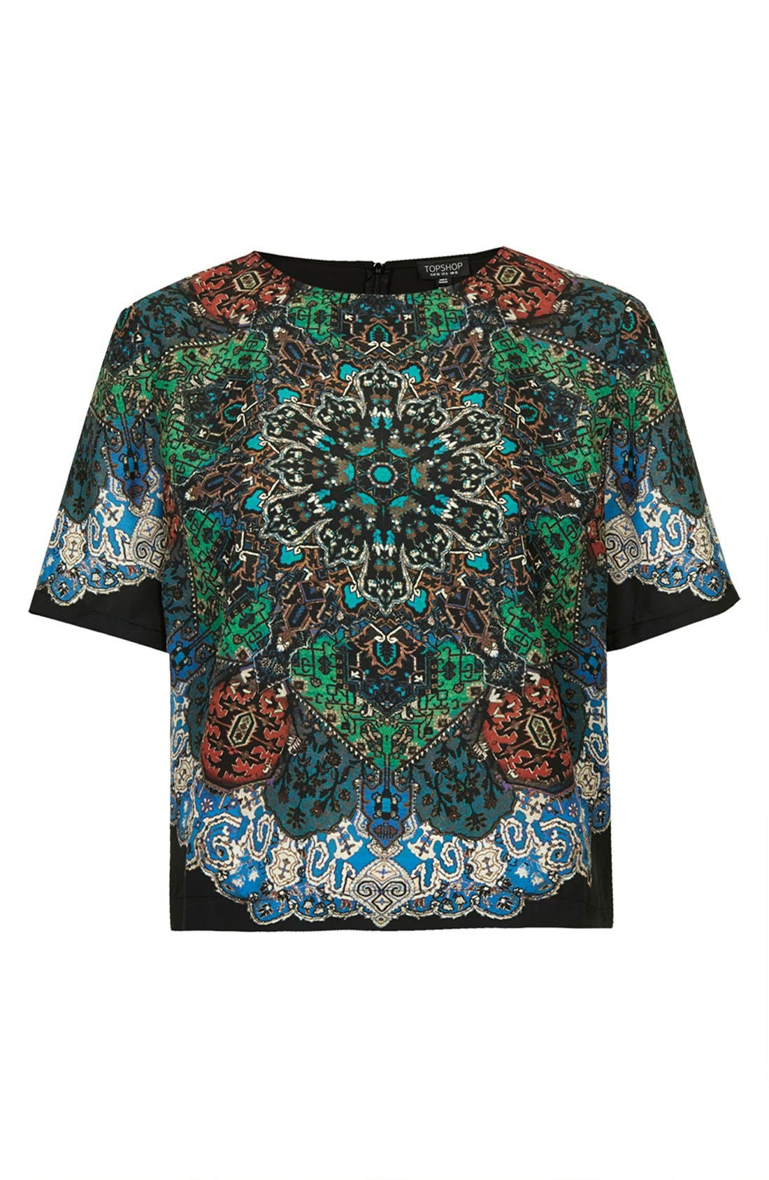Alternate Image 3  - Topshop Folk Print Tee
