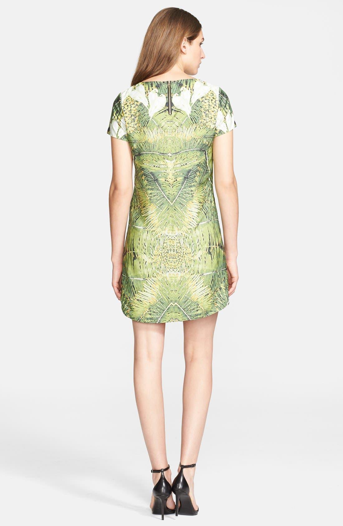 Alternate Image 2  - Ted Baker London 'Tropical Doves' Print Woven Tunic Dress