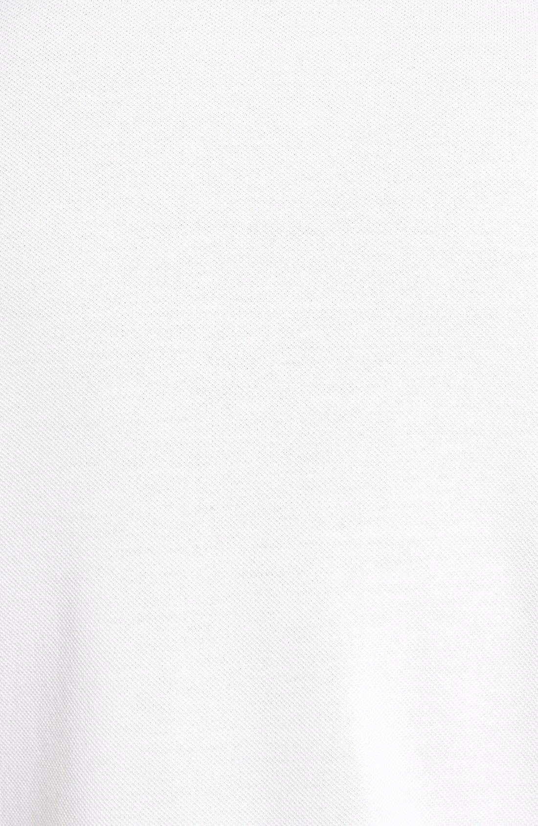 Alternate Image 3  - Lacoste 'White Croc' Regular Fit Piqué Polo