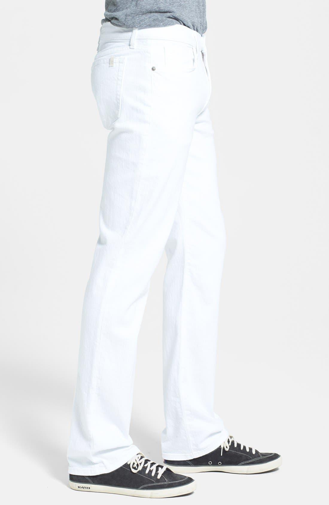 Alternate Image 3  - Joe's 'Classic' Straight Leg Jeans (Optic White)