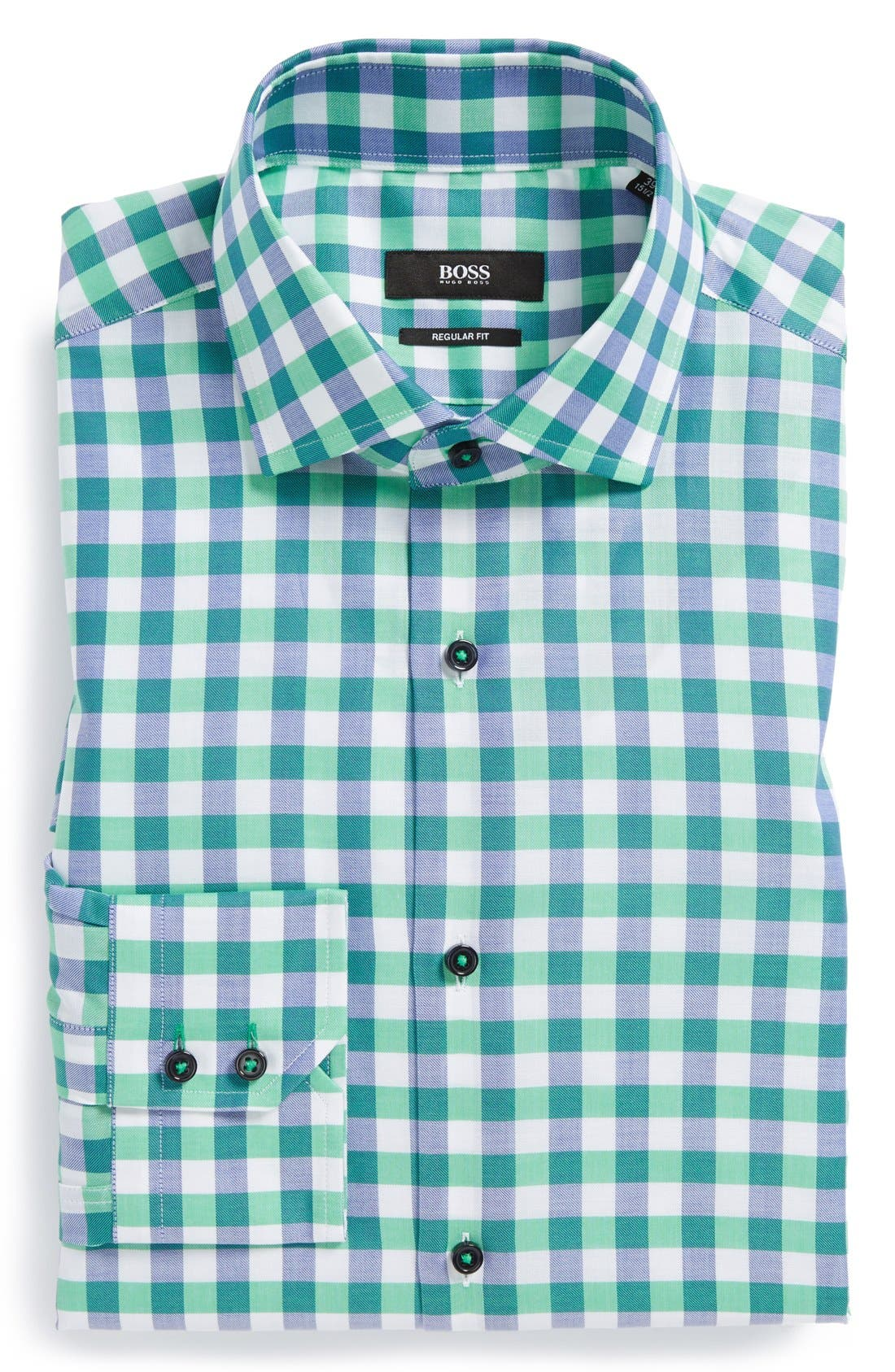 Main Image - BOSS HUGO BOSS 'Gorman' WW Regular Fit Dress Shirt