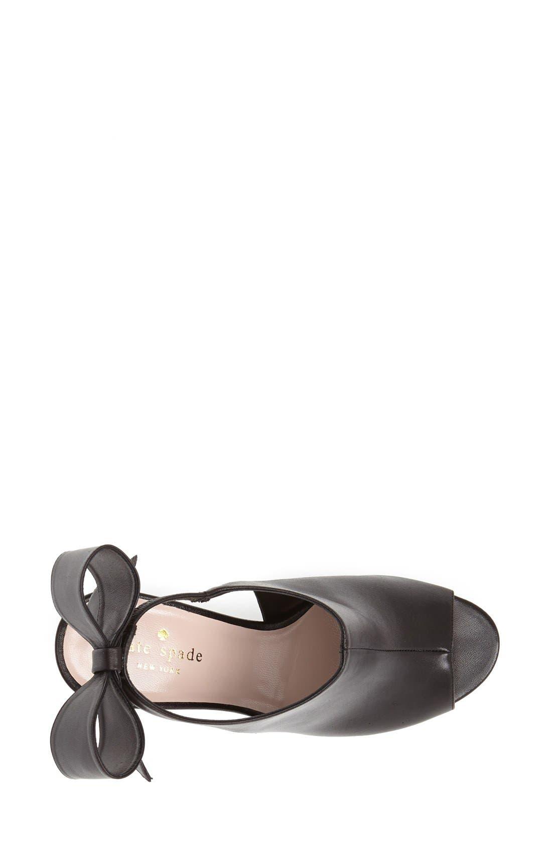 Alternate Image 4  - kate spade new york 'ira' slingback sandal (Women)