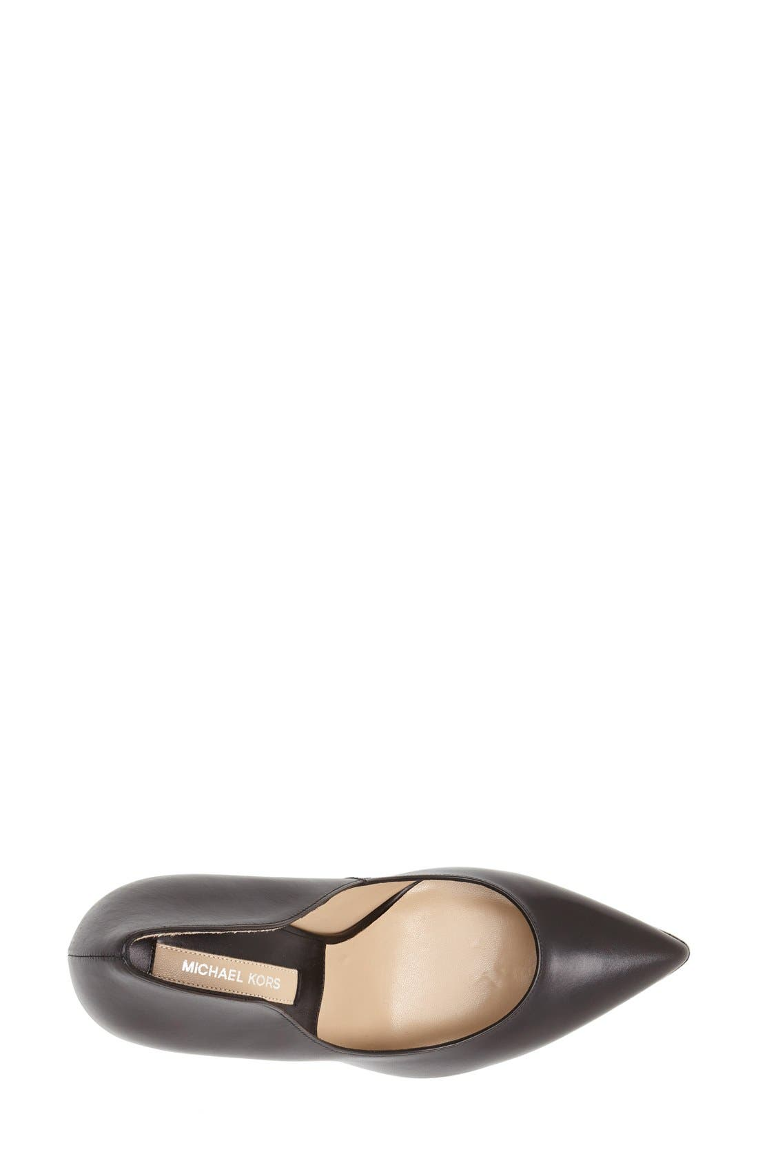Alternate Image 3  - Michael Kors 'Avra' Pointy Toe Pump (Women)