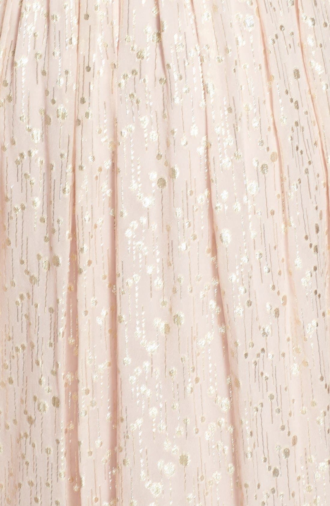 Alternate Image 3  - ERIN erin fetherston 'Coralie' Foiled Silk Chiffon Gown