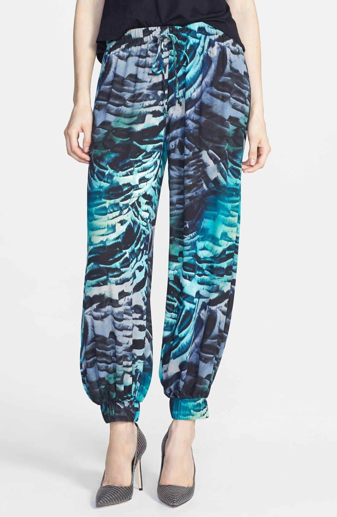 Alternate Image 1 Selected - June & Hudson Floral Genie Pants