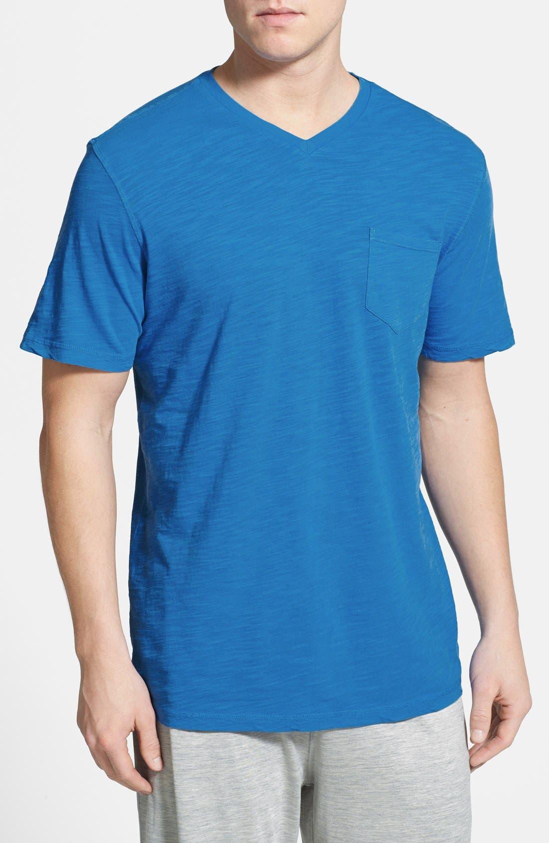 Alternate Image 1 Selected - Daniel Buchler Cotton Slub T-Shirt