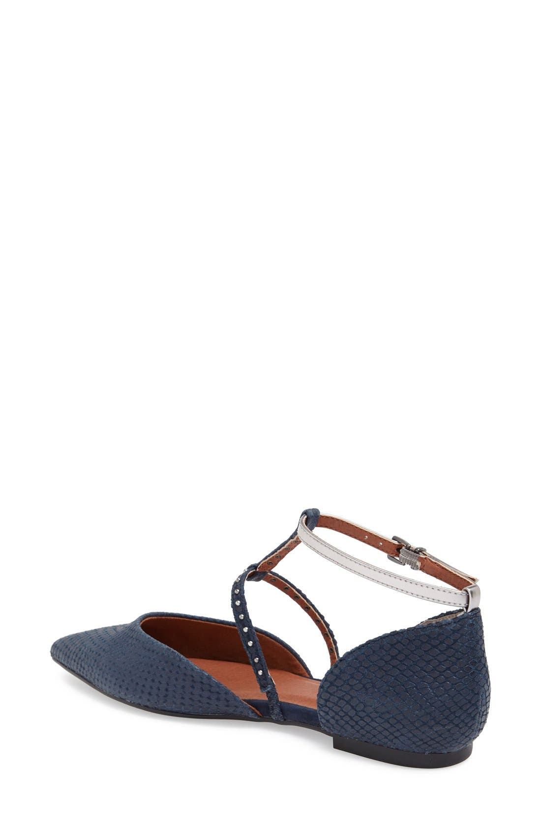 Alternate Image 2  - Seychelles 'Uncovered' Leather Ankle Strap Flat (Women)