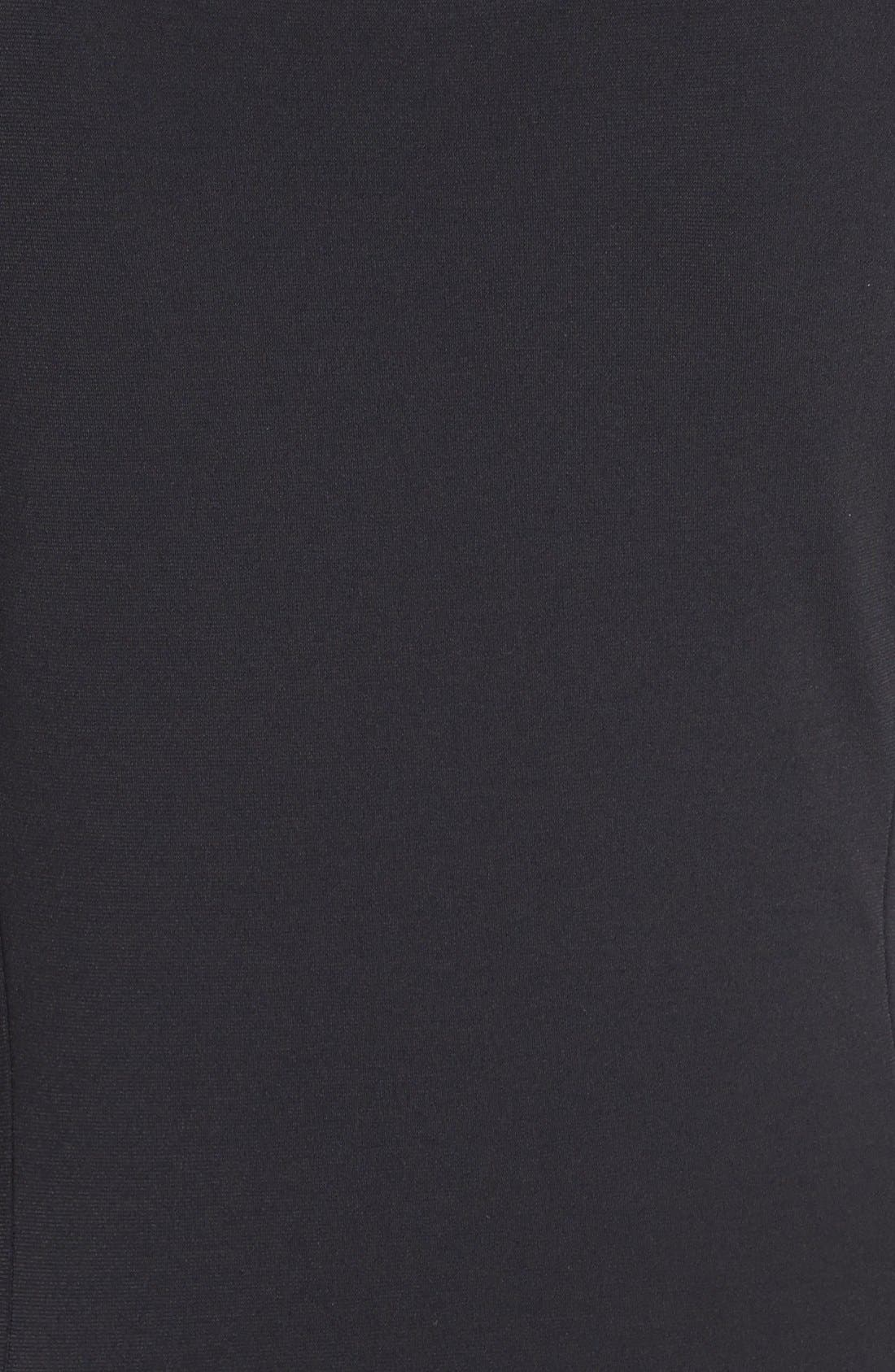 Alternate Image 3  - MICHAEL Michael Kors Cap Sleeve Stretch Jersey Maxi Dress