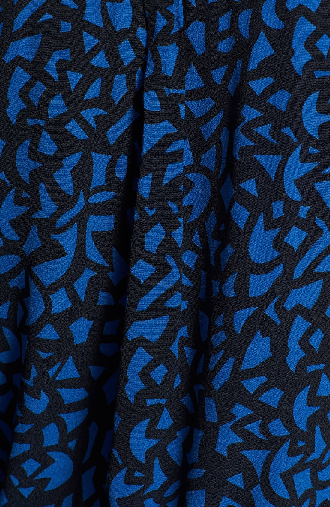 Alternate Image 3  - Burberry Brit Print Shirred Neck Blouse