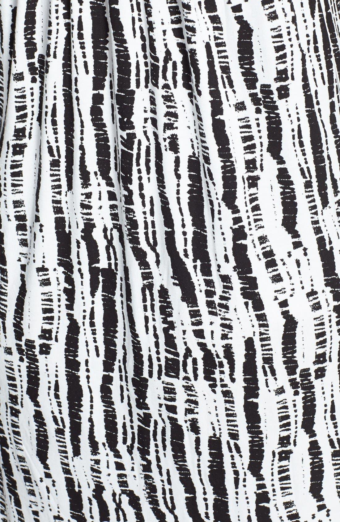 Alternate Image 3  - Oscar de la Renta 'Bamboo Impressions Print' Chemise (Plus Size)