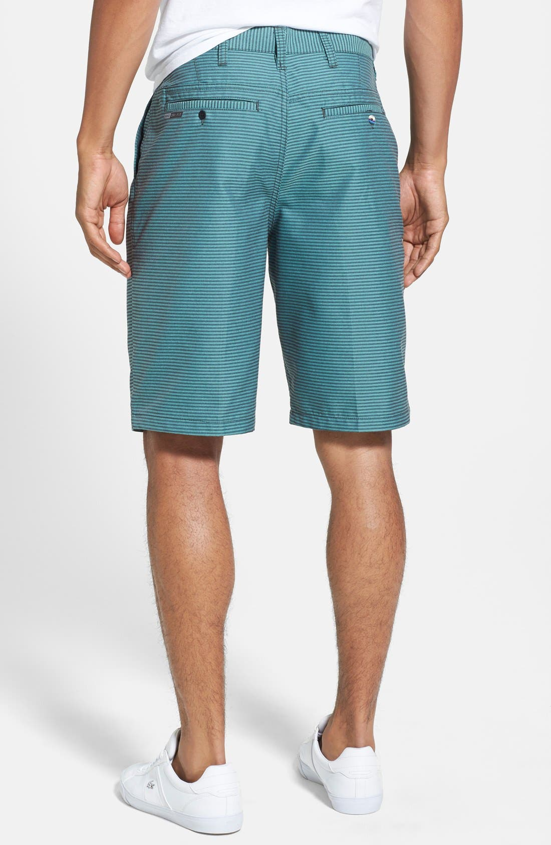 Alternate Image 2  - Hurley 'Hickory' Herringbone Dri-FIT Shorts