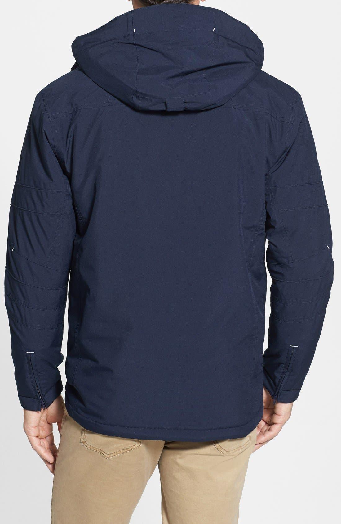 Alternate Image 2  - Cutter & Buck WeatherTec Sanders Jacket (Big & Tall)