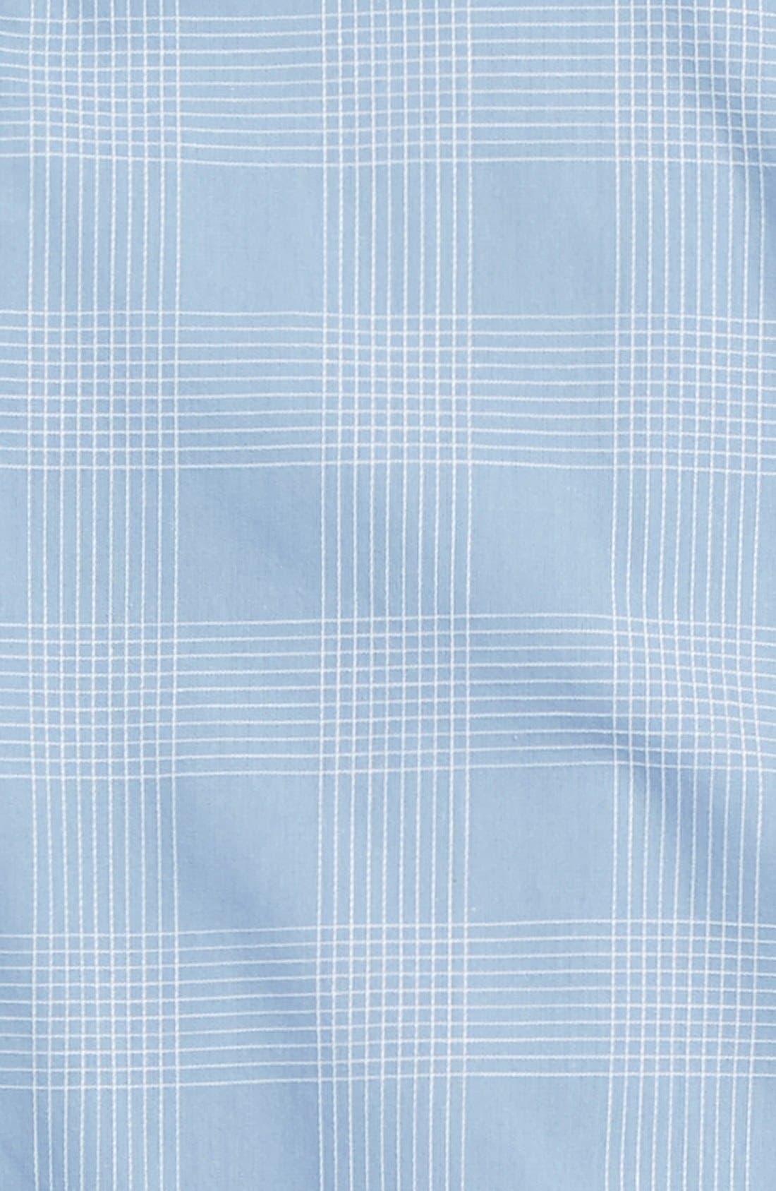 Alternate Image 2  - Vince 'Dobby' Cotton Sport Shirt (Big Boys)