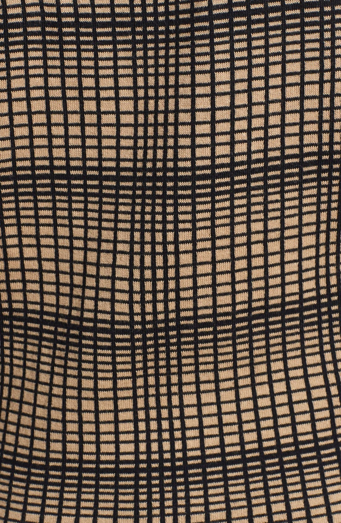 Alternate Image 3  - Vince Camuto Plaid Jacquard Sleeveless Sweater