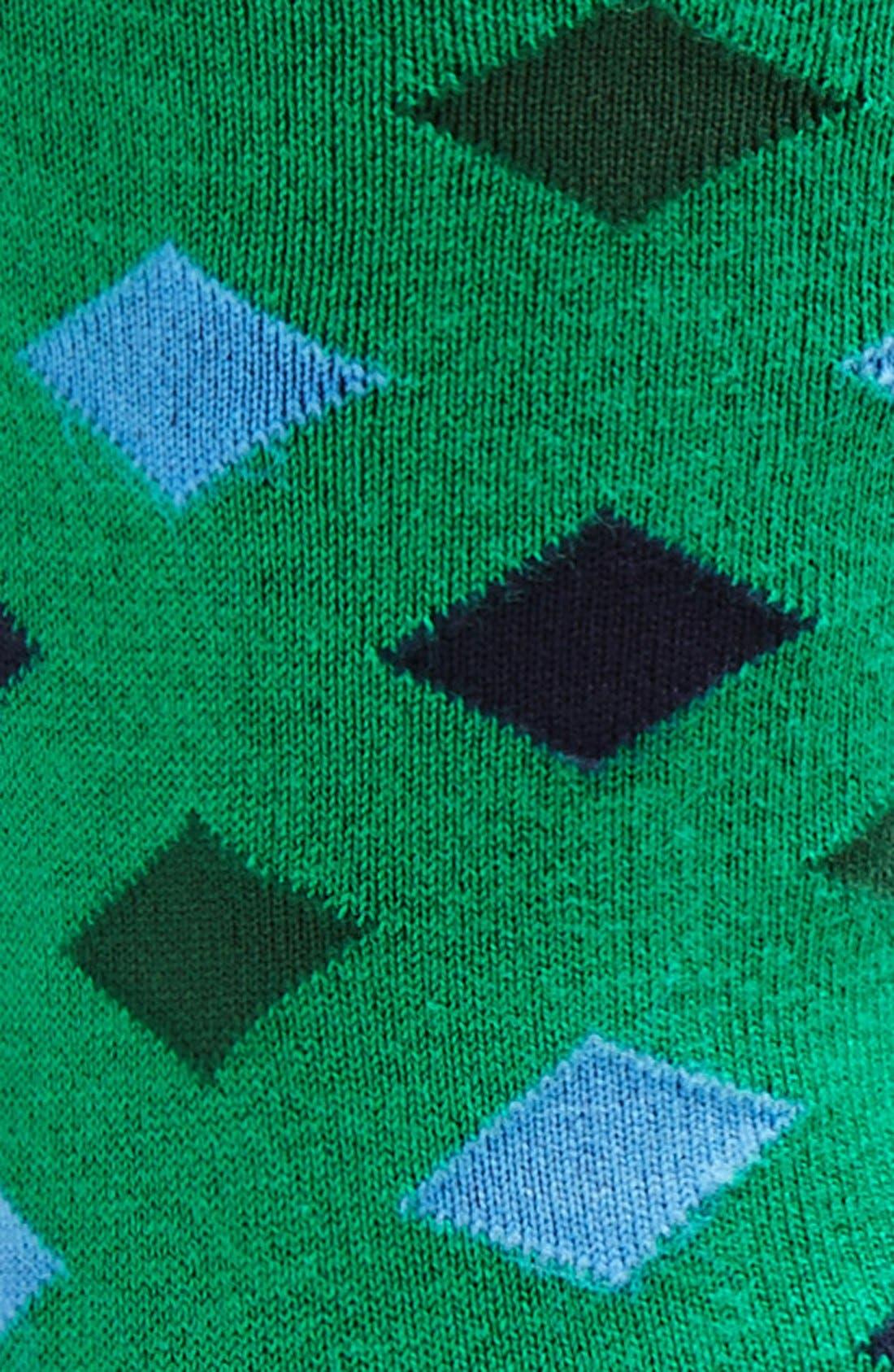 Alternate Image 2  - Tommy John 'Joe Plaid' InvisiGrip™ Socks (2-Pack)