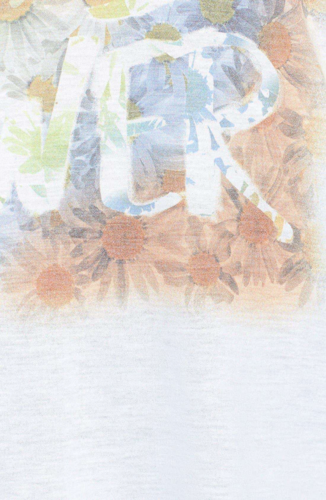 Alternate Image 3  - Jessica Simpson 'Danna' Graphic Print Tee (Plus Size)