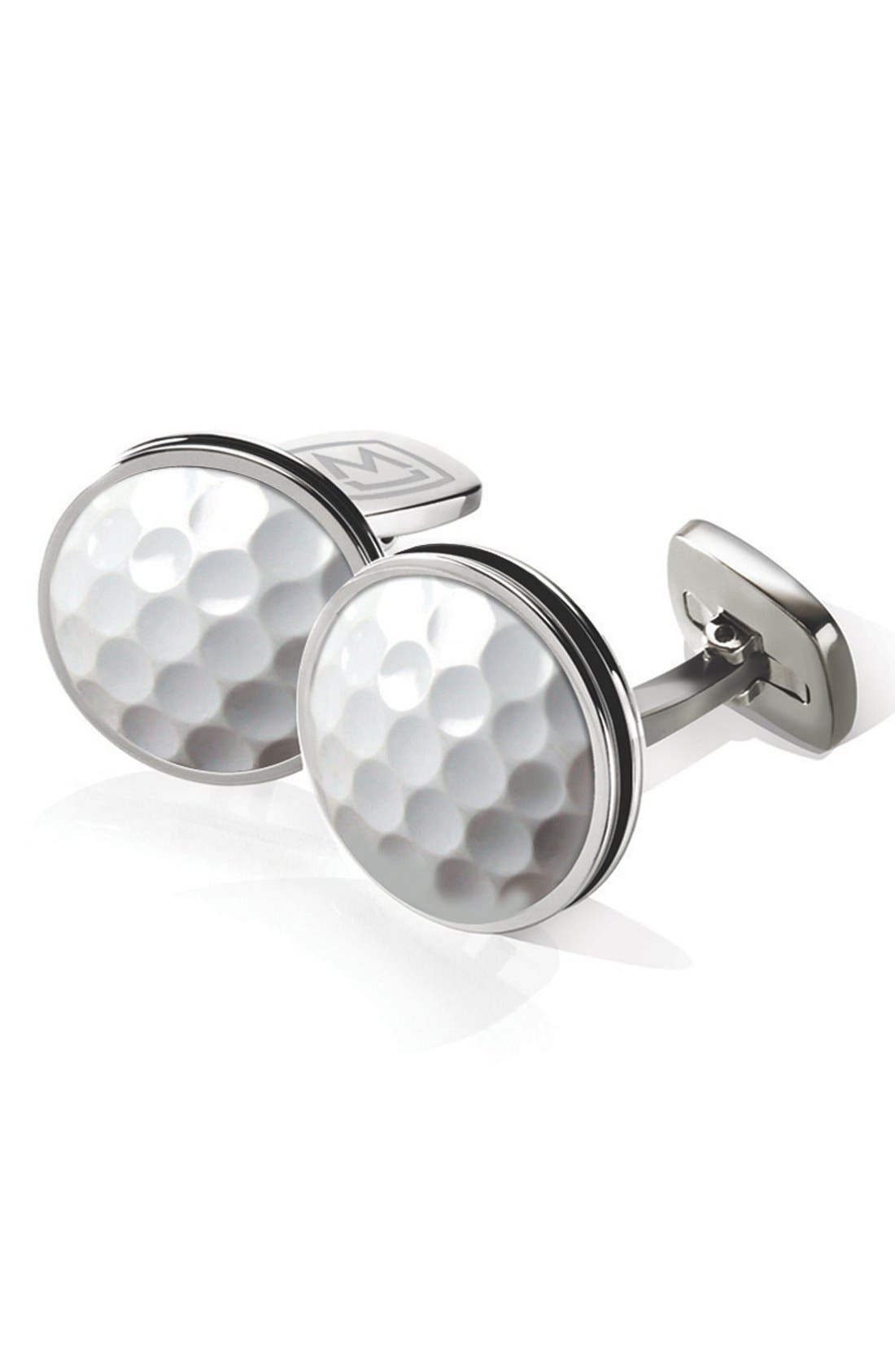 M-CLIP® Golf Ball Cuff Links