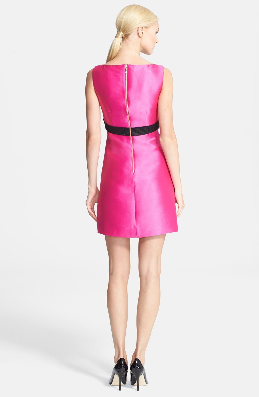 Alternate Image 2  - kate spade new york 'origami' a-line dress