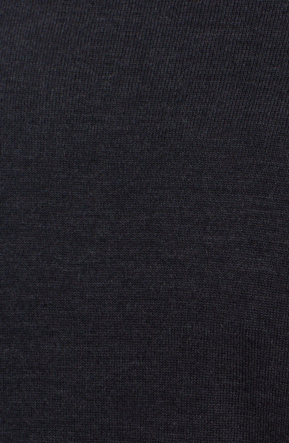 Alternate Image 3  - Armani Collezioni Wool Jersey Crewneck Sweater