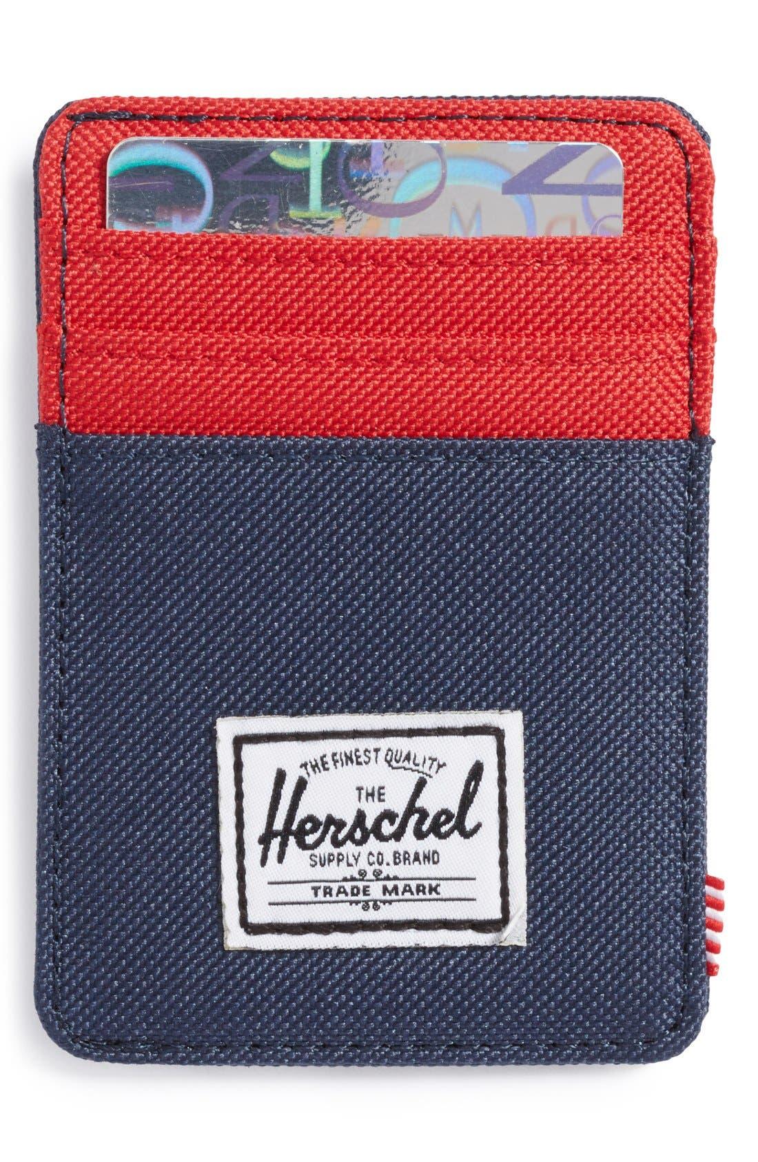 Alternate Image 1 Selected - Herschel Supply Co. 'Raven' Card Case