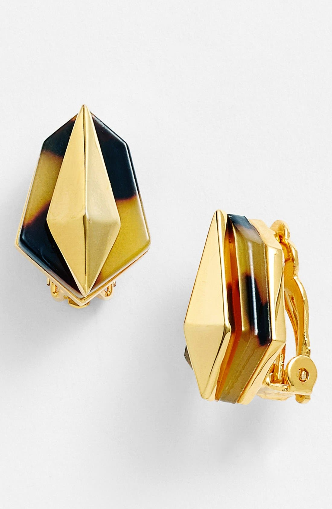 Alternate Image 1 Selected - Vince Camuto 'Argentine Villa' Clip Earrings