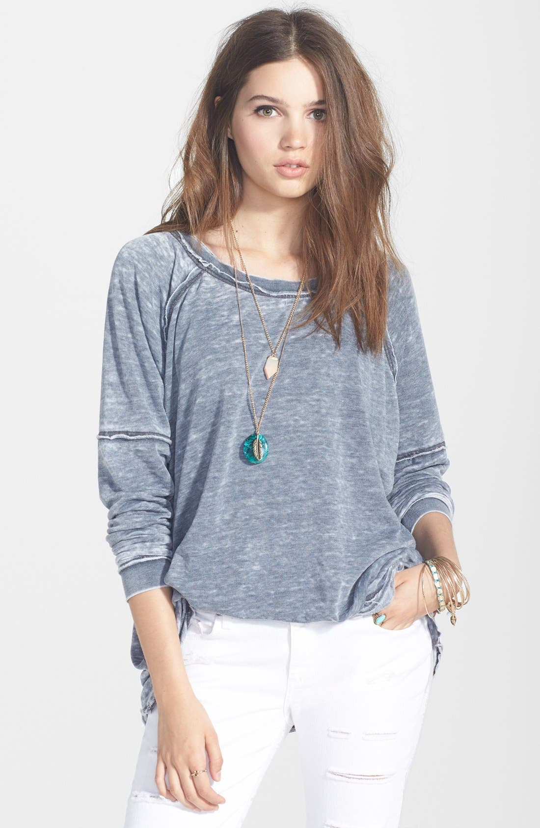 Main Image - Free People 'Never Can Tell' Pullover